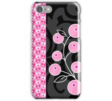 Birds and Berries 4s & 4 iphone case iPhone Case/Skin