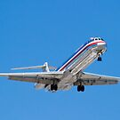 N487AA American Airlines, McDonnell Douglas DC-9 MD-82 by Henry Plumley