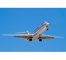 N487AA American Airlines, McDonnell Douglas DC-9 MD-82 Photographic Print