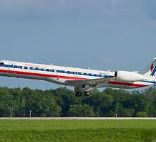 N939AE, American Eagle, Embraer EMB-145LR by Henry Plumley