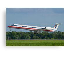 N939AE, American Eagle, Embraer EMB-145LR Canvas Print