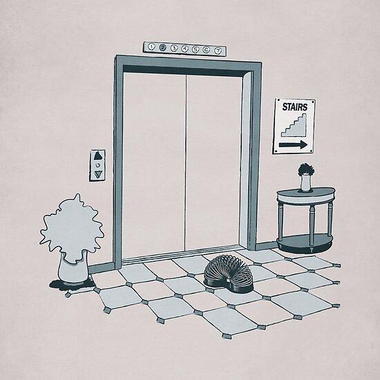 Elevator Slinky by Griggitee