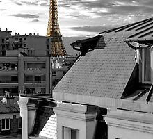 Eiffel at Twililght - Apartment View by William Gordon