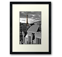 Eiffel at Twililght - Apartment View Framed Print