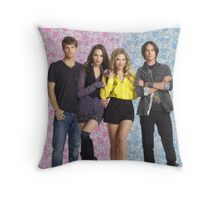 haleb and spoby pretty little liars Throw Pillow
