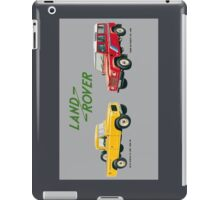 Land Rover 'composite' advert ('Saloon' Landy's) T-shirt etc... iPad Case/Skin