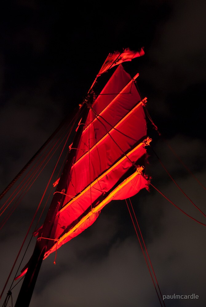 Under Blood Red Sails by paulmcardle