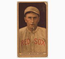 Benjamin K Edwards Collection Harry Hooper Boston Red Sox baseball card portrait Kids Tee