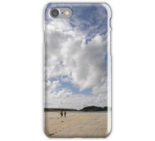 Walking Keadue Beach Donegal Ireland iPhone Case/Skin