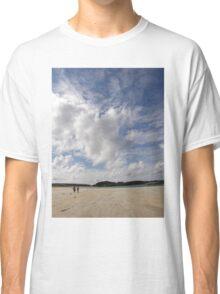 Walking Keadue Beach Donegal Ireland Classic T-Shirt