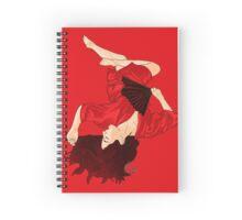 Red Lust Spiral Notebook