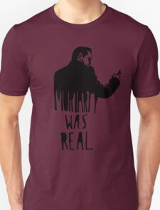 Moriarty Was Real - Black T-Shirt
