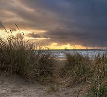Sweeping away Sunset by Mari  Wirta
