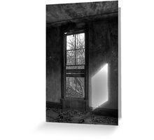Window From Another Time Greeting Card
