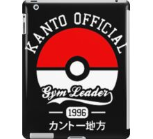 KANTO OFFICIAL POKEMON GYM iPad Case/Skin