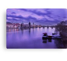 Karluv most Canvas Print