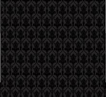 221B Wallpaper Black by xSadiax
