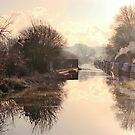 Winter Clayworth Morning by John Dunbar
