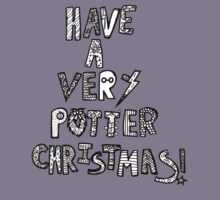 HAVE A VERY POTTER CHRISTMAS Kids Tee