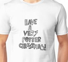 HAVE A VERY POTTER CHRISTMAS Unisex T-Shirt