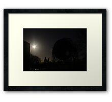 Lovell,y  Silhouette.  Framed Print