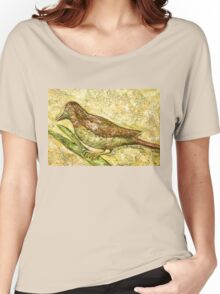 A bird the surprise visitor Women's Relaxed Fit T-Shirt