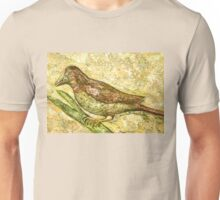 A bird the surprise visitor Unisex T-Shirt