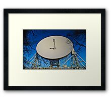 The Sound Of Space. Framed Print