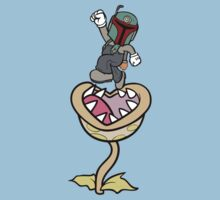 Super Bobio & the Sarlacc Plant Baby Tee