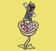 Super Bobio & the Sarlacc Plant Kids Clothes