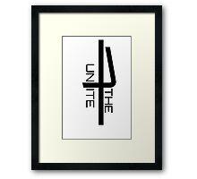 Unite the seven Framed Print