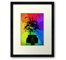 The Colour of Music Framed Print