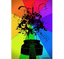 The Colour of Music Photographic Print