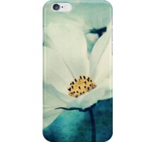 Aqua Flower iPhone Case/Skin