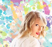 Taylor Swift Screaming Color by Eliselle