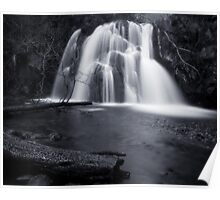 Fairy Glen Waterfall Poster