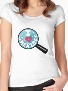 I HEART SHERLOCK Women's Fitted Scoop T-Shirt