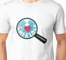 I HEART SHERLOCK Unisex T-Shirt