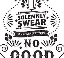 I Solemnly Swear - Harry Potter Quote by Funkykisty