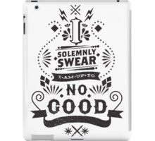 I Solemnly Swear - Harry Potter Quote iPad Case/Skin