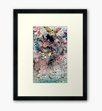 The Great Forage Framed Print