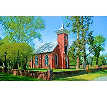 VIRGINIA CHURCH Photographic Print
