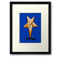 Shane star Framed Print
