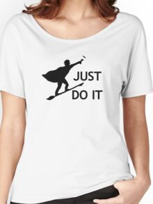 Just Do It Women's Relaxed Fit T-Shirt