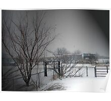 West Texas Winter Poster