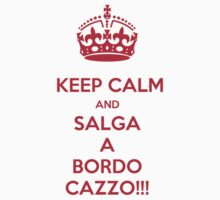 KEEP CALM AND SALGA A BORDO  by karmadesigner