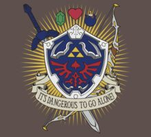 It's dangerous to go alone! Kids Clothes