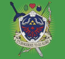 It's dangerous to go alone! Kids Tee