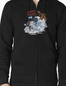 Calvin And Hobbes snow-wars T-Shirt