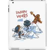 Calvin And Hobbes snow-wars iPad Case/Skin